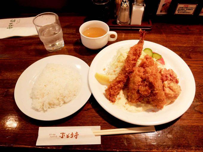 ぶどう亭 カキミックスセット
