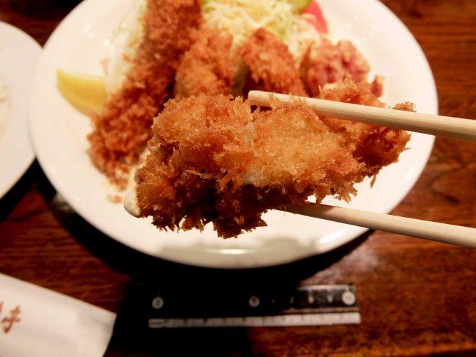 ぶどう亭 カキミックスセット カキフライ