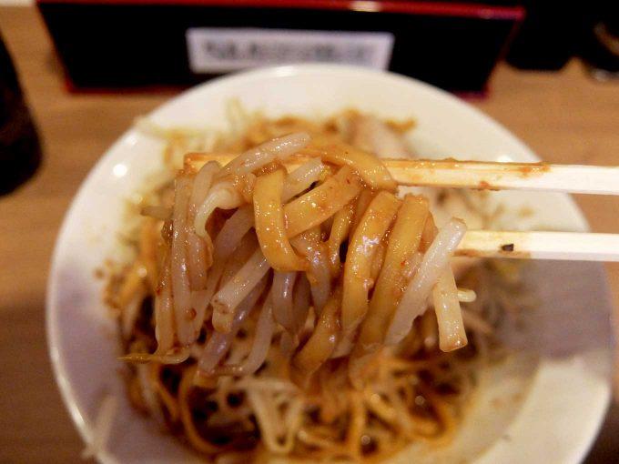 麺屋 ガテンZ 味噌MAZEそば 麺