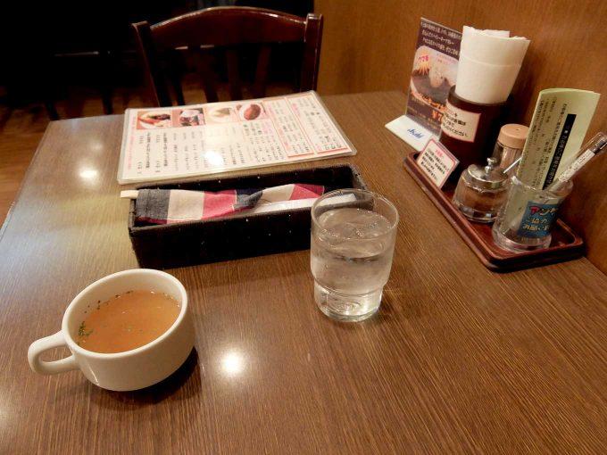 グリル 北斗星 テーブル