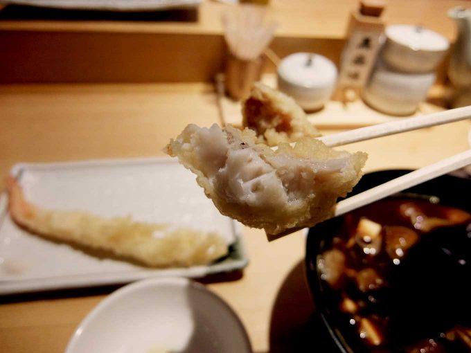 天ぷら まきの 梅田店 秋のご馳走定食 ゆめかさご