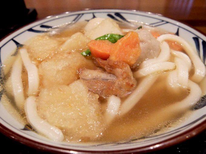 「丸亀製麺」ごろごろ野菜の揚げだしうどん