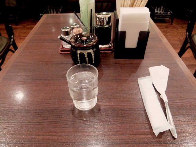 欧風軒 テーブル
