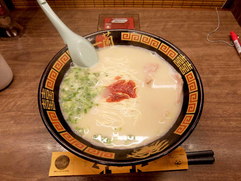 一蘭 梅田阪急東通店 ラーメン
