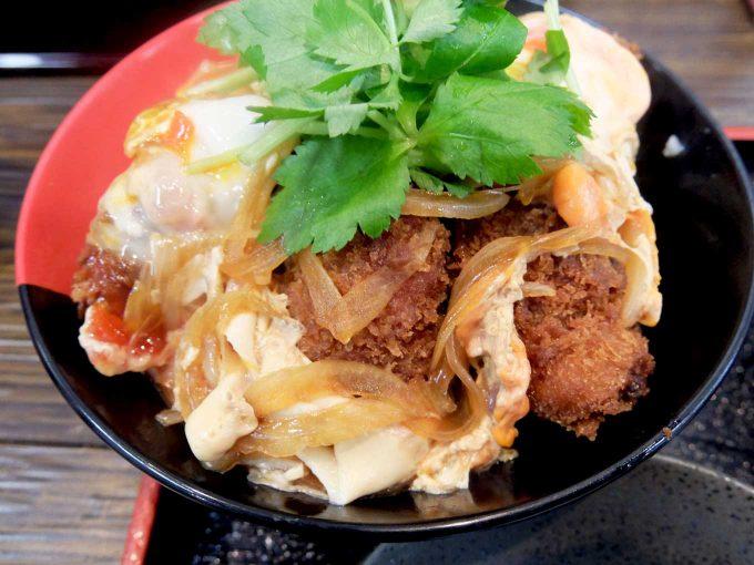 Ah-麺 カキフライとじ丼