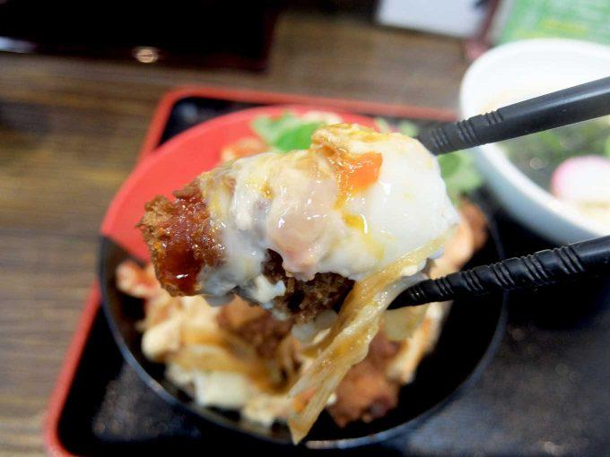 Ah-麺 カキフライとじ丼セット