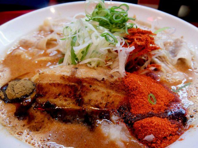 ひるドラ 鶴橋店 辛口炙り肉ソバ「味噌」