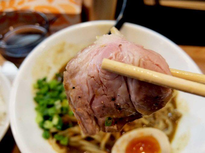 麺や 一想 スパイシーカレー和え麺 チャーシュー