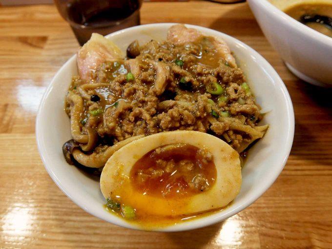 麺や 一想 スパイシーカレー和え麺 小ライス