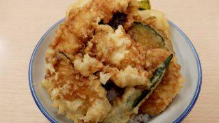 「天丼・天ぷら本舗 さん天」海老と牡蠣の天丼