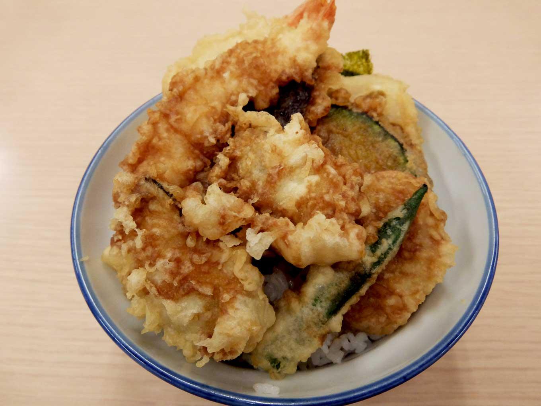 さん天 海老と牡蠣の天丼