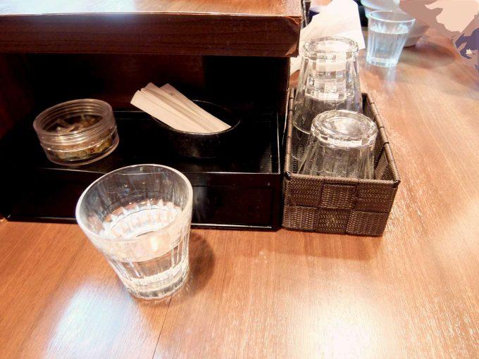 中華蕎麦 葛 カウンターテーブル