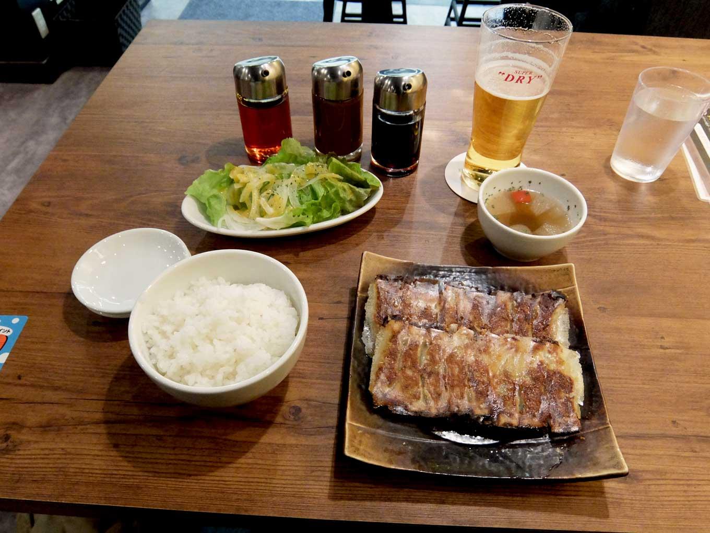 大阪 梅田「chaoVia」チャオチャオ餃子ランチ