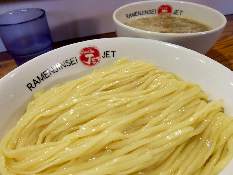 大阪 玉造「ラーメン人生 JET600」鶏煮込みつけ麺