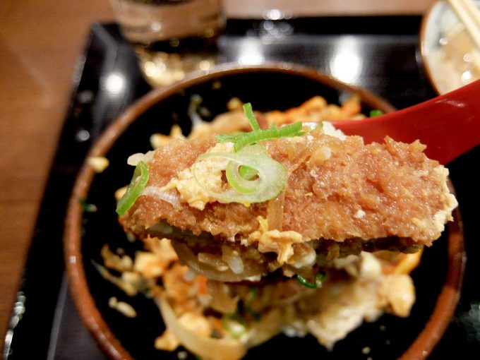 丸亀製麺 カツ丼