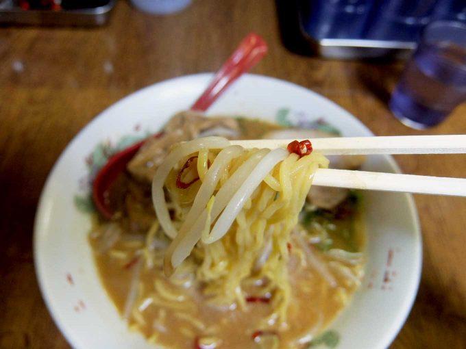 大阪 八尾「らーめん工房 RISE」THE 手前味噌 麺