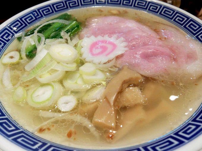 大阪 梅田「サバ6製麺所 お初天神店」サバ塩そば