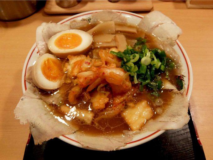 大阪 日本橋「作丸」醤油ラーメン