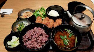24/7 cafe apartment umeda「広島産かきフライ」