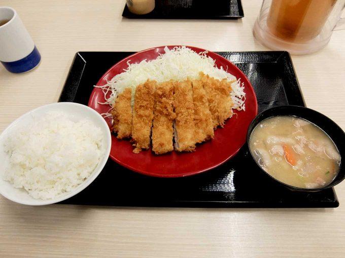 かつや 大阪本町通店「ロースカツ定食」in 大阪 堺筋本町