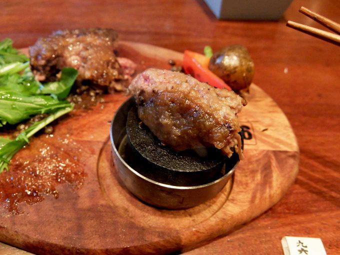 梅田肉料理 きゅうろく「黒毛和牛ハンバーグステーキランチ」 in 大阪 梅田