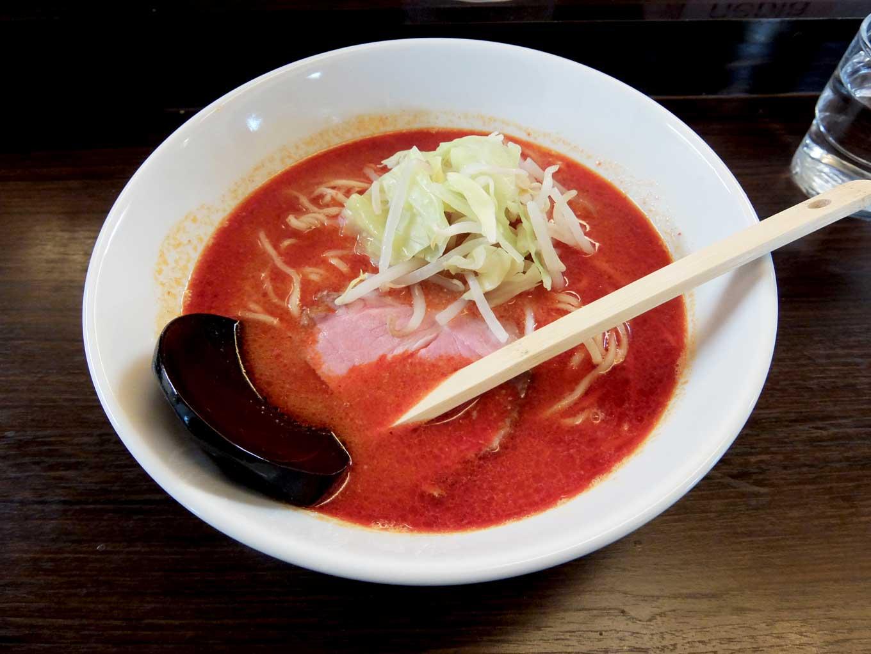 麺処 田中 (仮) 火麺 in 大阪 梅田 大阪駅前第1ビル