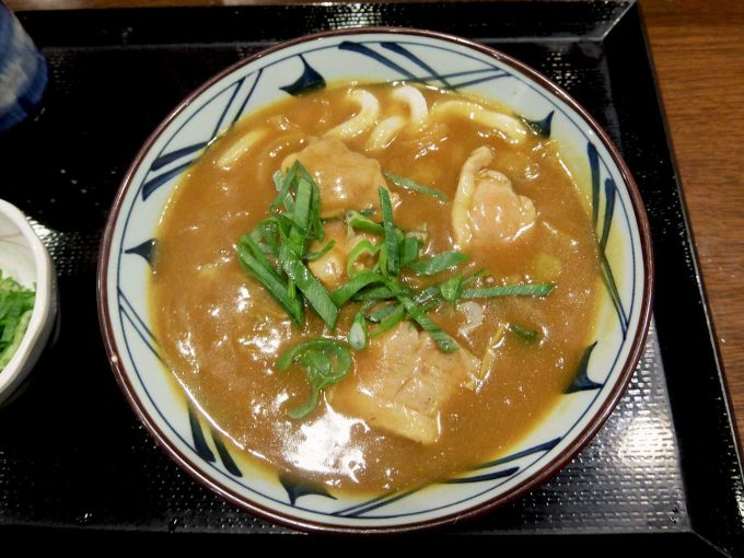丸亀製麺「鴨カレー南蛮」