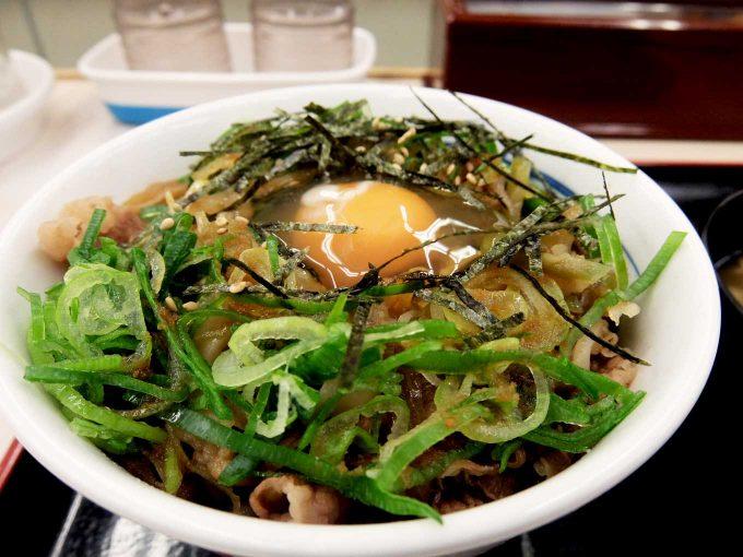 松屋「ガリたま牛めし」in 大阪 東大阪