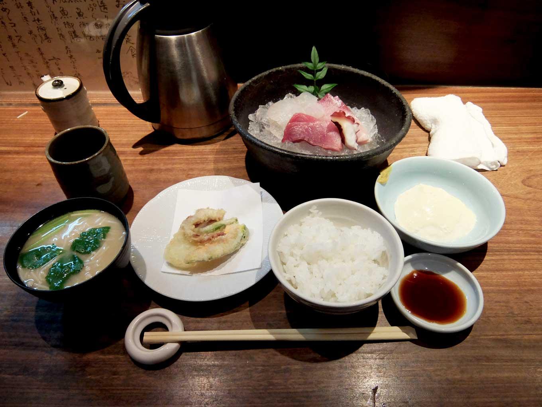 さかな料理 ろっこん お造り御膳 in 大阪 梅田 北新地