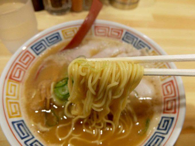 麺や 清流「鶏白湯 醤油 麺」in 大阪 東大阪市 長瀬