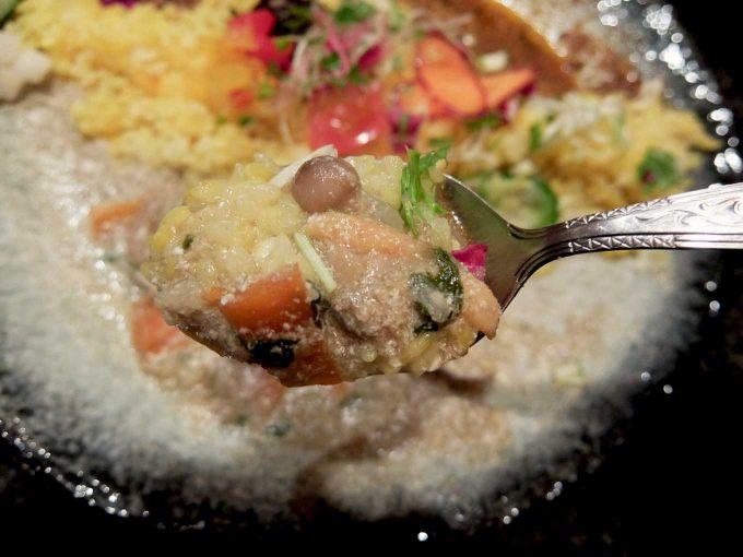 シナジー「あさりグリーン Curry 2」in 大阪 梅田 北新地