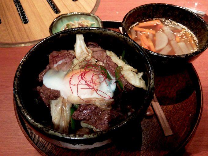 北新地てっぺん「焼肉丼」in 大阪 梅田 北新地