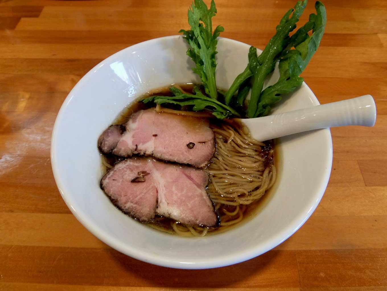 極汁美麺 umami「醤油ら〜めん」in 大阪 東大阪市