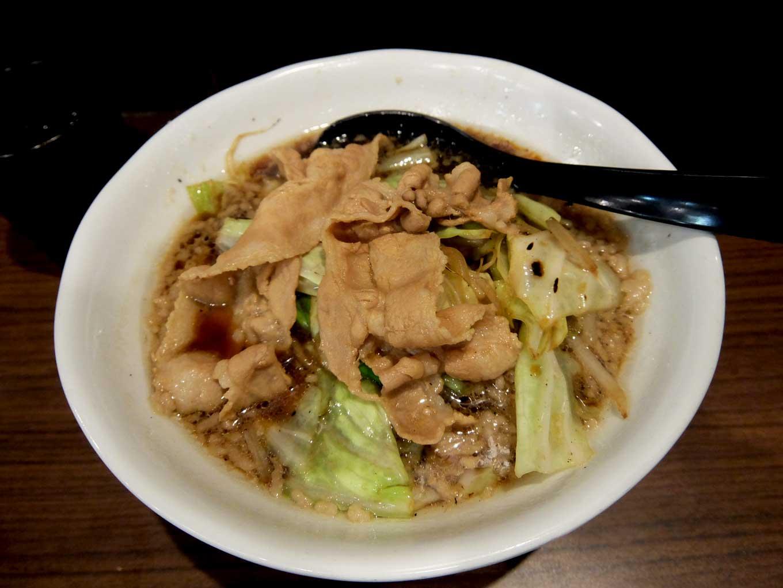 麺屋わっしょい「男の根性黒醤油」in 大阪 寺田町