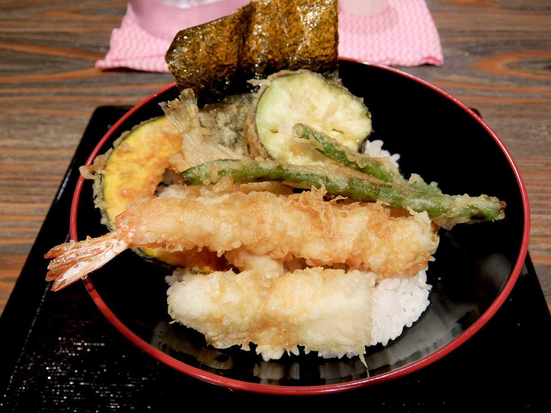 天丼・天串・串カツ いしのや「いしのや天丼」in 大阪 梅田 UMEDA FOOD HALL