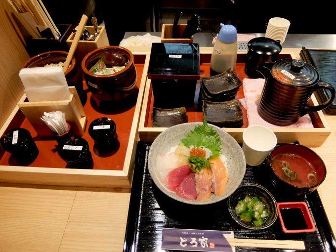 大阪・堂島 トロ家「カウンター」in 大阪 梅田 UMEDA FOOD HALL