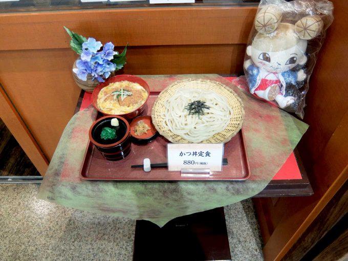 「杵屋 堂島地下街店」in 梅田 大阪 食品サンプルディスプレイ