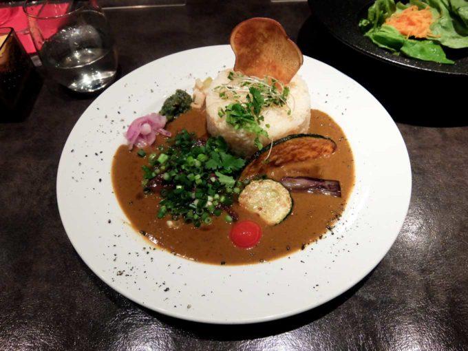 「牛ほほ肉のカツオ出汁カレー@アーユルベイブカレー」in 北新地 梅田 大阪