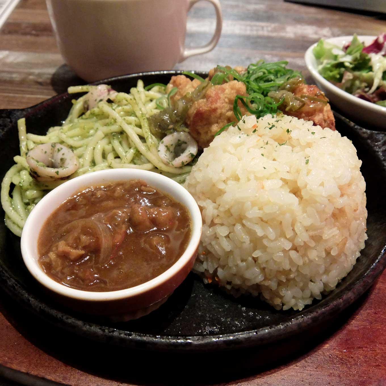 トリッペリアモツーダ 大阪マルビル店 週替わりモツーダランチ 梅田