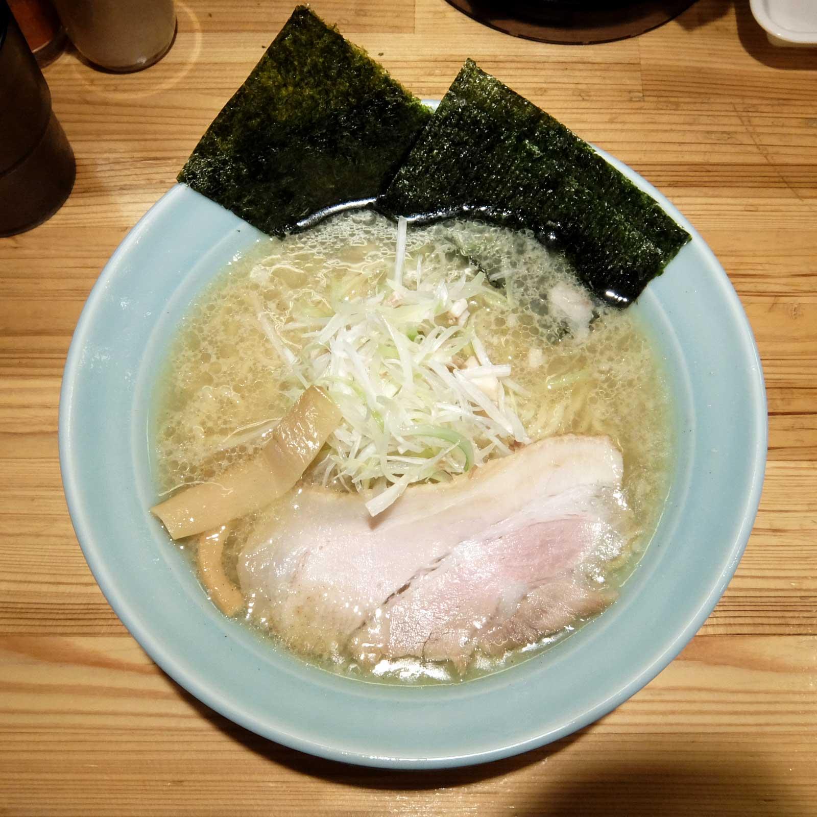 麺と出汁が絡むとき 絡むネギラーメン 大阪駅前第2ビル 梅田 大阪