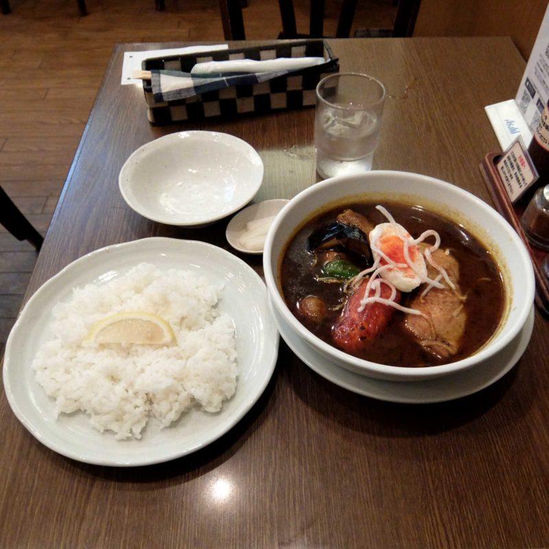グリル 北斗星 スープカレー 大阪駅前第2ビル 梅田 大阪