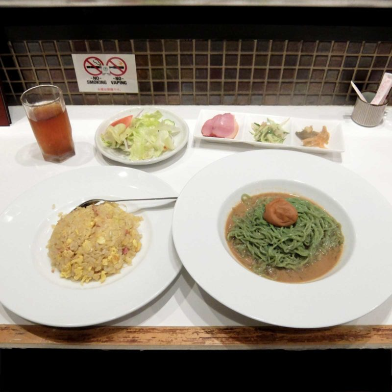 清心 冷麺 炒飯 ランチ 北新地 梅田 大阪