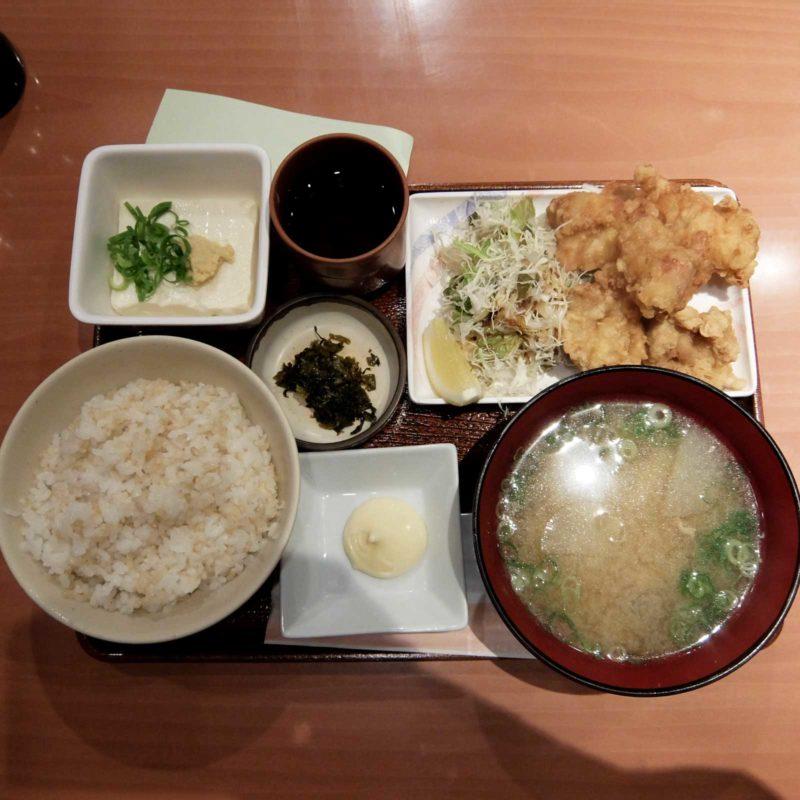 玉乃光酒造 梅田店 鶏唐揚げ定食 in 梅田 大阪