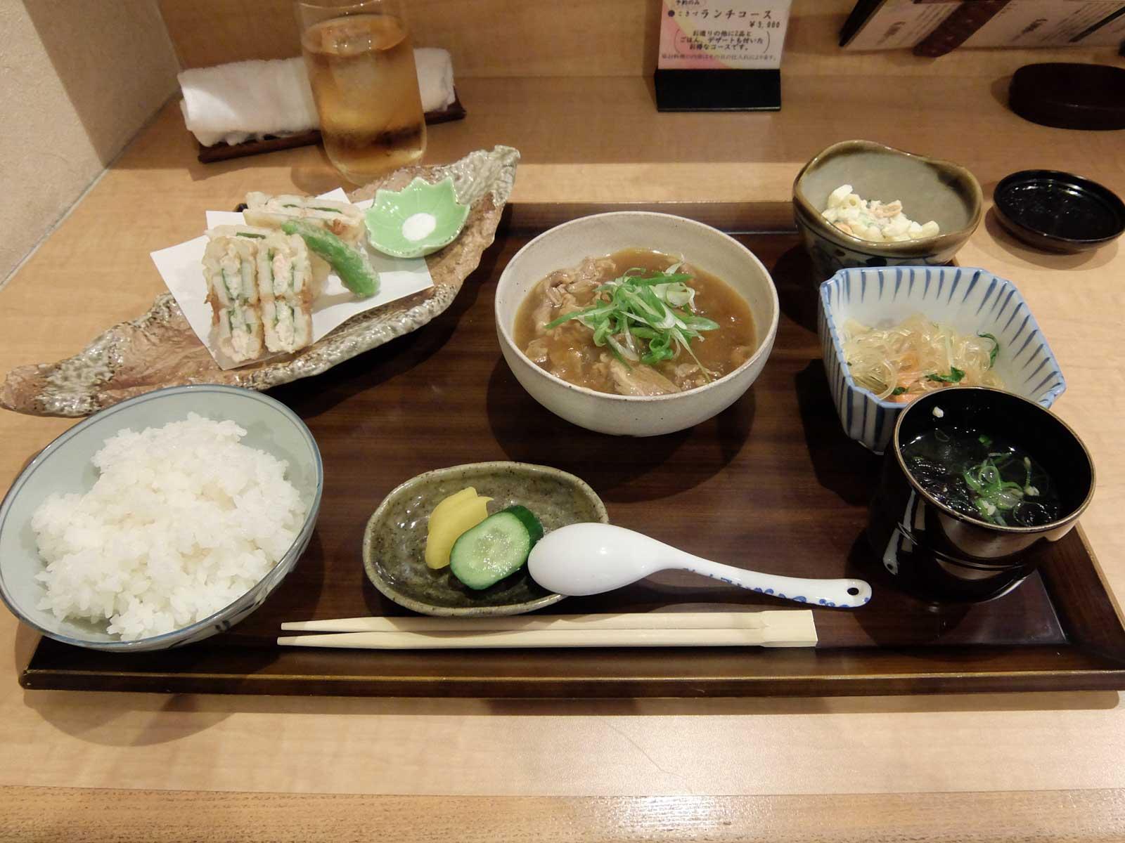 和食家 こきづ 週替り定食 in 北新地 梅田 大阪 ランチ