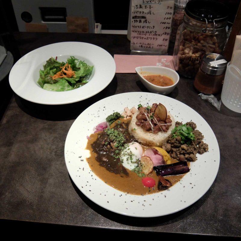 「全部のせカレー@アーユルベイブカレー」in 北新地 梅田 大阪